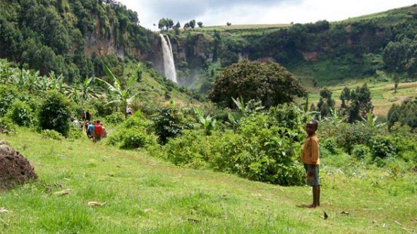 Uganda landscapes